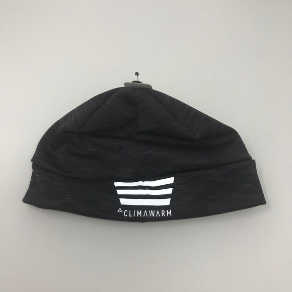 9e97560bdbe NEW Adidas Climawarm Black Beanie Hat